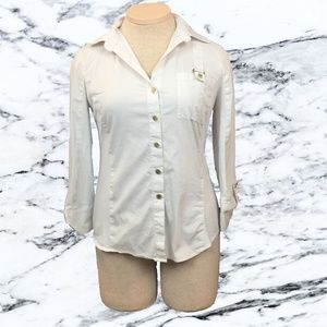 Anne Klein Oxford Blouse